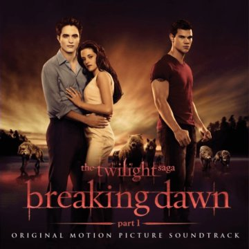 The Twilight Saga - Breaking Dawn Part 1 (Alkonyat - Hajnalhasadás) CD