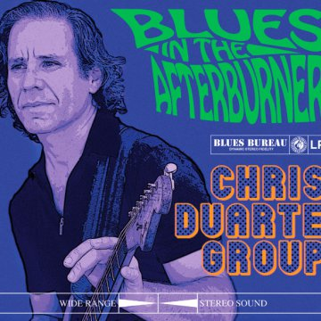 Blues In The Afterburner CD