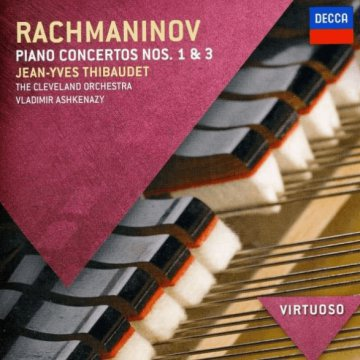 Rachmaninov - Piano Concertos Nos.1 & 3 CD