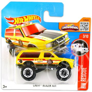 Hot Wheels Rescue: Chevy Blazer 4X4