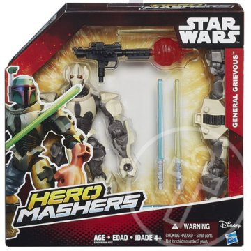 Star Wars Hero Mashers Episode III General Grievous figura - Hasbro