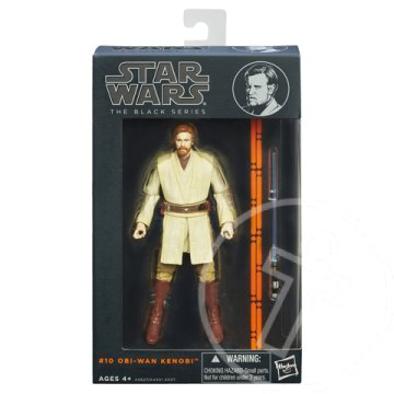 "Star Wars ""The Black Series"": Obi-Wan Kenobi figura fénykarddal 15cm - Hasbro"