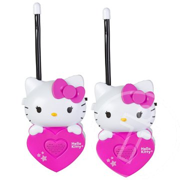 Hello Kitty walkie-talkie szett
