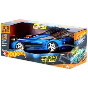 Hot Wheels Hyper Racer: Spin King kisautó