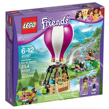 Lego Friends: Heartlake hőlégballon (41097)