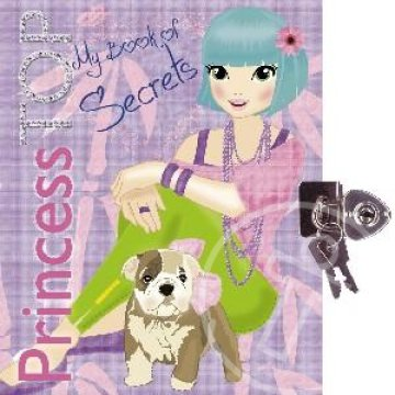 PRINCESS TOP - MY BOOK OF SECRETS (PURPLE)