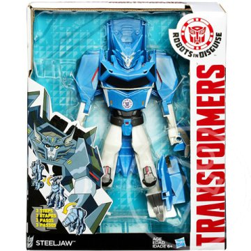 Transformers Robots in Disguise: Steeljaw Hyper Change robotfigura - Hasbro