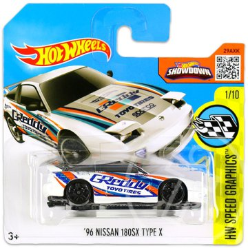 Hot Wheels Speed Graphics: 96 Nissan 180SX Type X