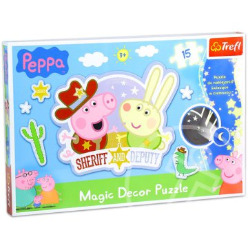 Peppa malac: Magic Decor puzzle - 15 db