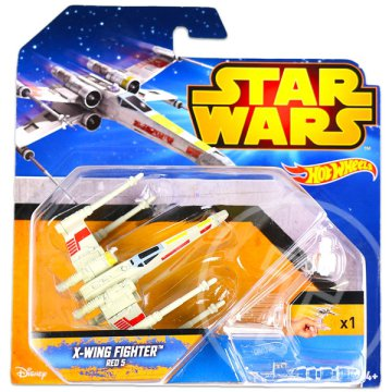 Hot Wheels: Star Wars X-Wing Fighter űrhajó - Red 5