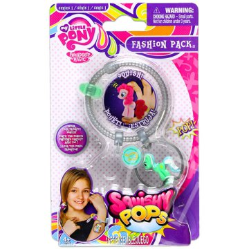 Én kicsi pónim: Squishy pops fashions pack - Lyra Heartstrings