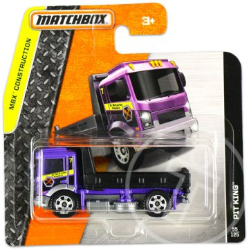 Matchbox: MBX Construction: Pit King - lila
