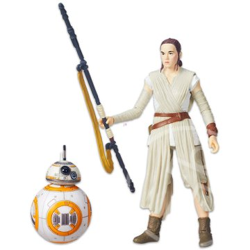 Star Wars: Black Series - Rey Jakku figura