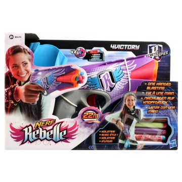 NERF Rebelle: Secrets And Spies - 4Victory szivacslövő pisztoly