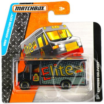 Matchbox: MBX Adventure City: Express Delivery kisautó