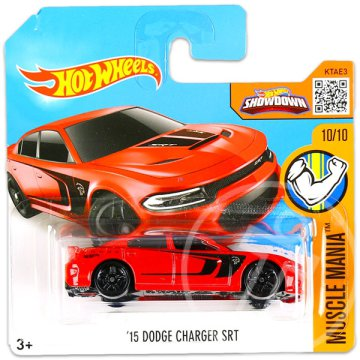 Hot Wheels Muscle Mania: 15 Dodge Charger SRT