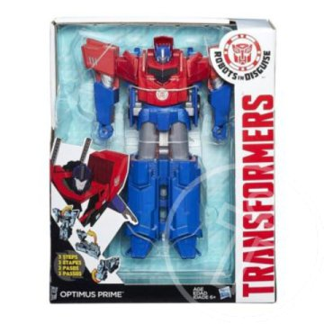 Transformers Robots in Disguise: Optimus Prime Hyper Change robotfigura - Hasbro