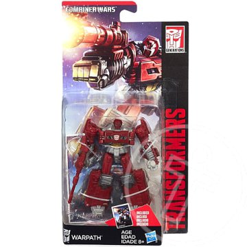Transformers Generations Combiner Wars Legends Class Warpath robotfigura - Hasbro