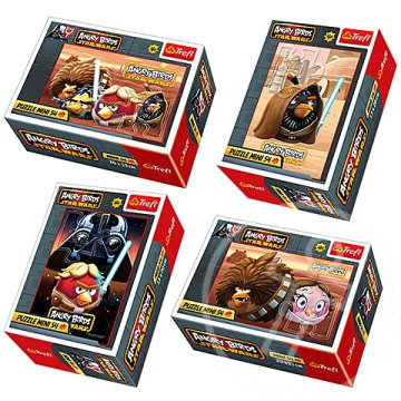 Angry Birds Star Wars 54db-os mini puzzle - Trefl