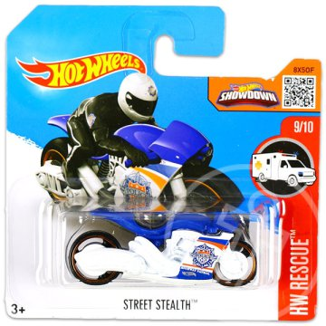 Hot Wheels Rescue: Street Stealth