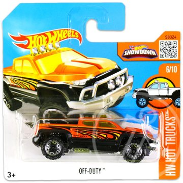 Hot Wheels Hot Trucks: Off-Duty