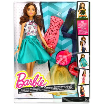 Barbie Fashion Mix N Match baba - barna