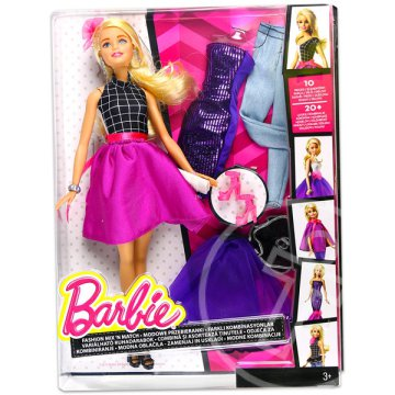 Barbie Fashion Mix N Match baba - szőke