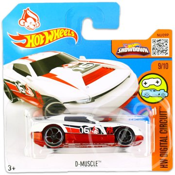 Hot Wheels Digital Circuit: D-Muscle