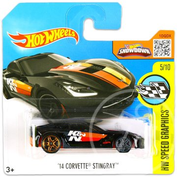 Hot Wheels Speed Graphics: 14 Corvette Stingray