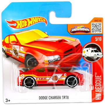 Hot Wheels Rescue: Dodge Charger SRT8