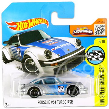 Hot Wheels Speed Graphics: Porsche 934 Turbo RSR