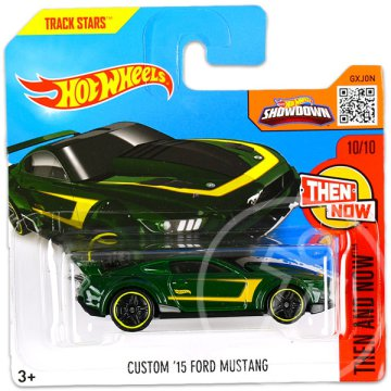 Hot Wheels Then and Now: Custom 15 Ford Mustang