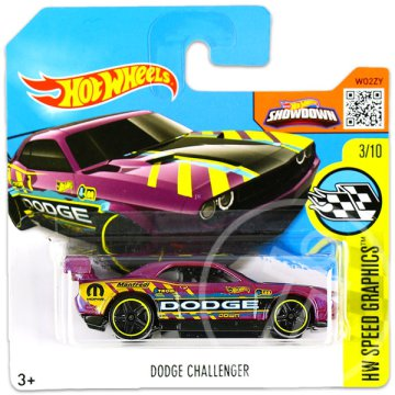Hot Wheels Speed Graphics: Dodge Challenger