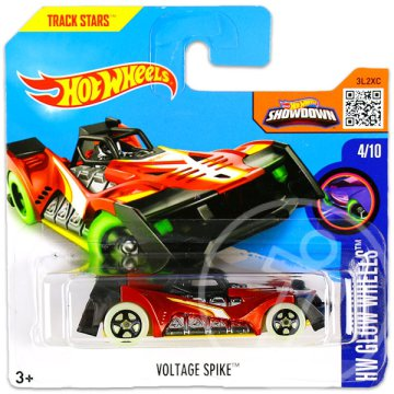 Hot Wheels Glow Wheels: Voltage Spike