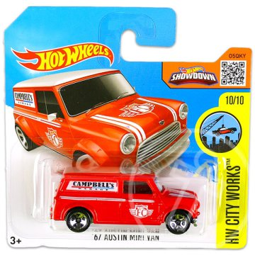 Hot Wheels City Works: 67 Austin Mini Van