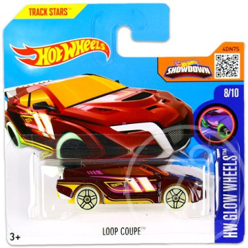 Hot Wheels Glow Wheels: Loop Coupe