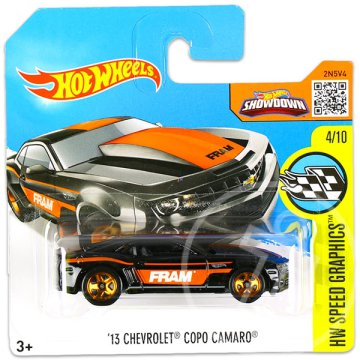 Hot Wheels Speed Graphics: 13 Chevrolet Copo Camaro