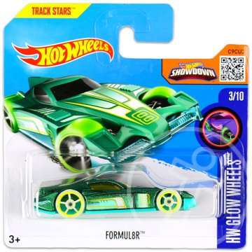 Hot Wheels Glow Wheels: Formul8R