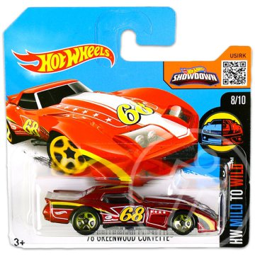 Hot Wheels Mild to Wild: 76 Greenwood Corvette