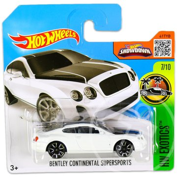 Hot Wheels Exotics: Bentley Continental Supersports