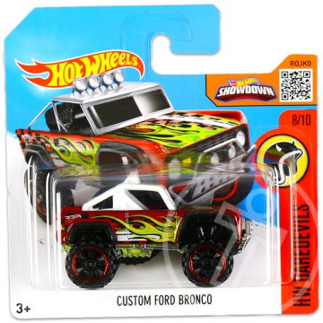 Hot Wheels Daredevils: Custom Ford Bronco