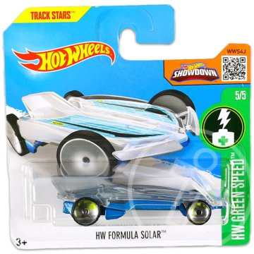 Hot Wheels Green Speed: Formula Solar