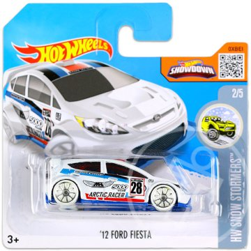Hot Wheels Snow Stormers: 12 Ford Fiesta