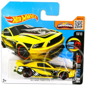 Hot Wheels Mild to Wild: 13 Ford Mustang GT