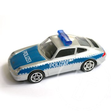 Bburago: Porsche 911 Carrera Polizei version kisautó 1/43