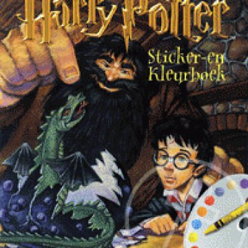 Harry Potter - Sticker-en Kleurboek (barna)