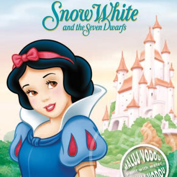 SNOW WHITE AND THE SEVEN DWARFS - HÓFEHÉRKE KIFESTŐ