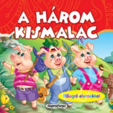 A HÁROM KISMALAC - MINI POP-UP
