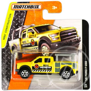 Matchbox: MBX Construction: 15 Ford F-150 kisautó