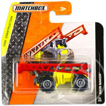 Matchbox: MBX Construction: Rain Maker kisautó - sárga